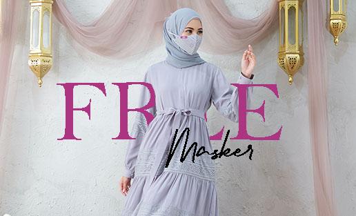 Busana Muslim Renda - Busana Muslim Lebaran Idul Fitri 2021 Cat 3 Beauty in Laces Delia Hijab