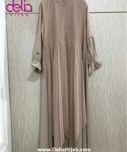 Baju Gamis Modern - Laluna Dress - Delia Hijab