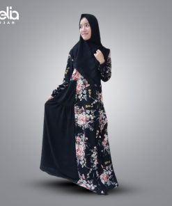 Baju Gamis Motif Modern - Monalisa Set - Delia Hijab