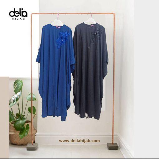 Baju Muslim Casual - Lakeisha Kaftan - Delia Hijab