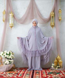Mukena Muslimah Terbaru - Mukena Liberia - Delia Hijab