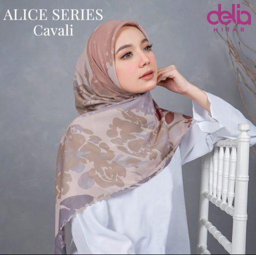 Scarf Motif Modern - Alice Scarf - Cavali - Delia Hijab
