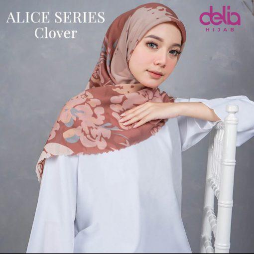 Scarf Motif Modern - Alice Scarf - Clover - Delia Hijab