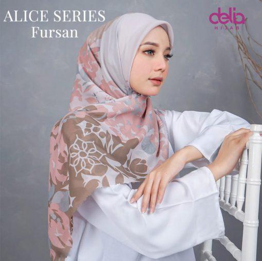 Scarf Motif Modern - Alice Scarf - Fursan - Delia Hijab
