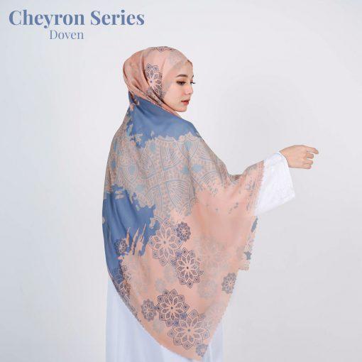 Scarf Motif Modern - Cheyron Scarf - Doven - Delia Hijab