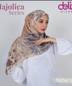 Scarf Motif Modern - Majolica Scarf - Yebera - Delia Hijab