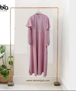 Baju Gamis Modern - Larrita Dress - Delia Hijab