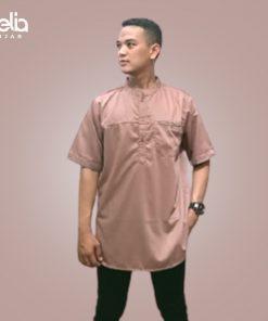 Baju Muslim Pria - Raka Shirt SS - Deia Hijab M