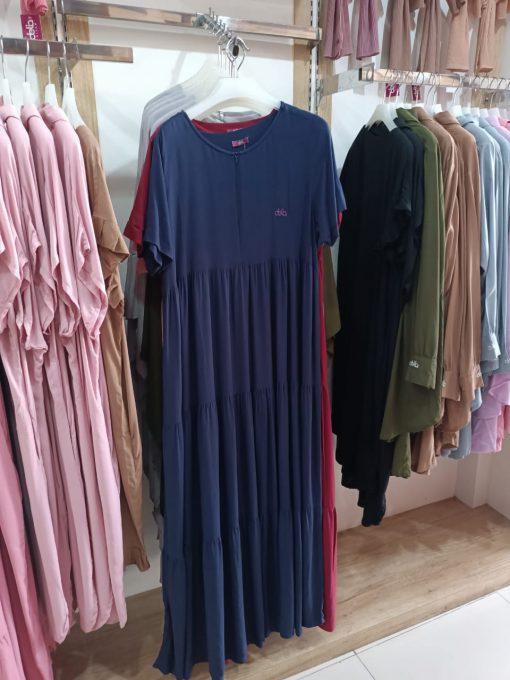 Homewear Dress - Felysia Dress Polos - Delia Hijab