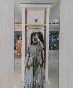 Baju Gamis Modern - Nana Dress - Delia Hijab
