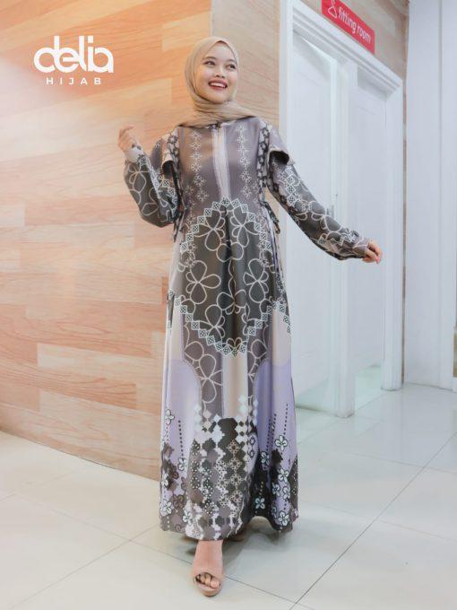 Baju Gamis Modern - Milea Dress _Delia Hijab