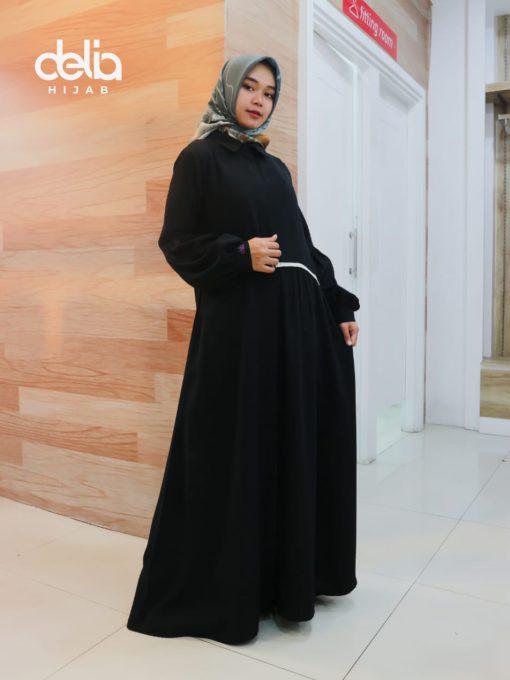 Baju Gamis Modern - Mirabella Dress - Delia Hijab