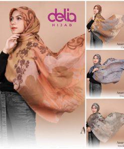 Hijab Segi Empat - Anara Scarf - Delia Hijab