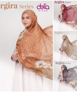 Hijab Segi Empat - Argira Scarf - Delia Hijab