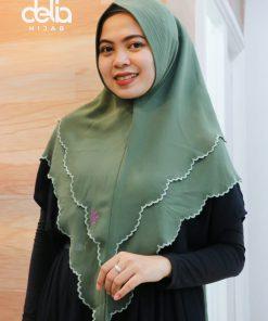 Kerudung Khimar syari - Khimar Salwa -Delia Hijab