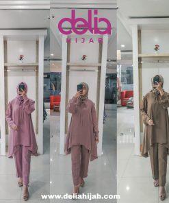 Baju Muslim Modern - Mahisa Set - Delia Hijab