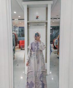 Baju Gamis Modern - Mazna Dress - Delia Hijab