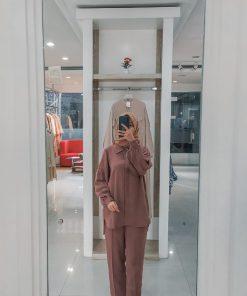 Baju Muslim Modern - Meliska Set - Delia Hijab