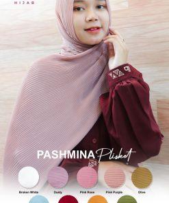 Kerudung Pashmina - Plisket Delia - Delia Hijab
