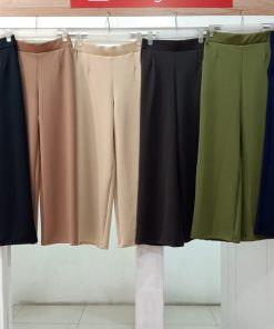 Kulot Kekinian - Zalika Pant - Delia Hijab